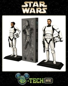 Star Wars custom action figures