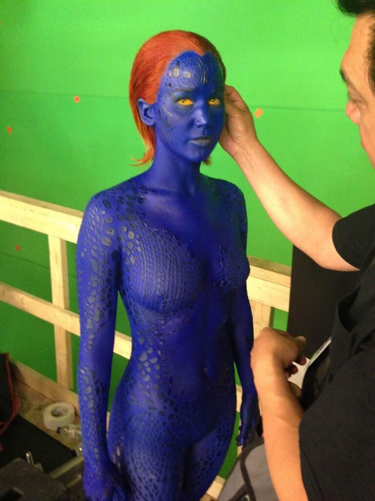 X-Men: Days of Future Past - First Look at Jennifer Lawrence's Mystique