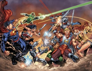 DC Comics/Masters of the Universe crossover by Dexter Soy
