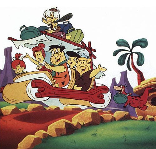 flintstones-car