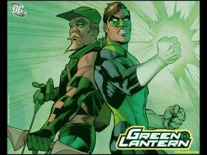 Green Lantern Green Arrow Ivan Reis