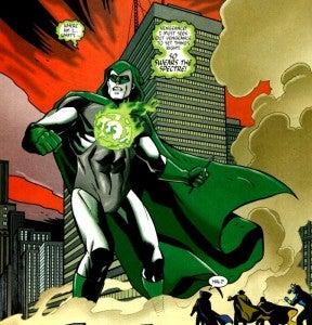Hal Jordan as The Spectre