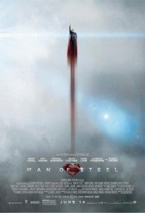 Man Of Steel Poster Flying Solo