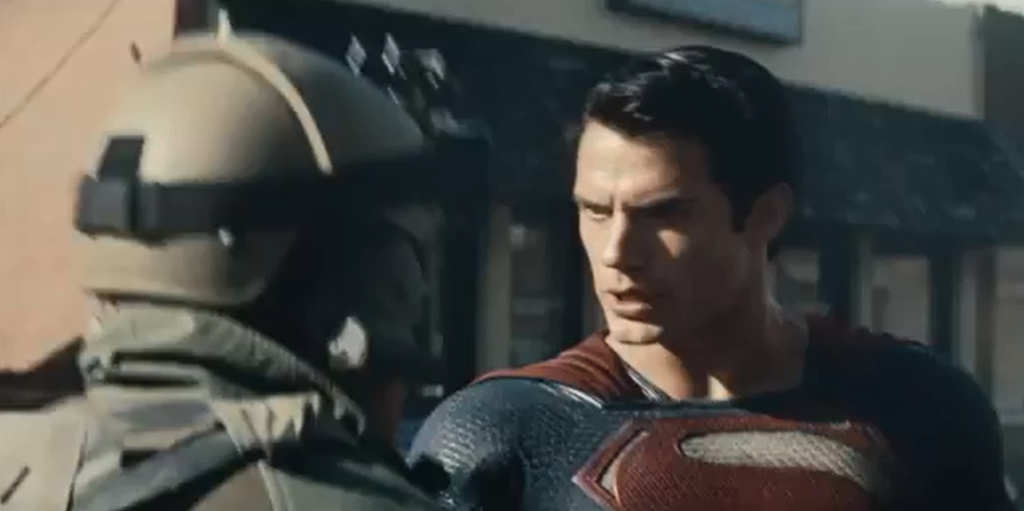 Man of Steel TV Spot #7: Superman and the Military