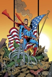 Superman Unchained #1 variant by Dan Jurgens