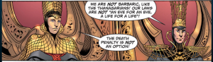 Thanagar reference in Man of Steel comic