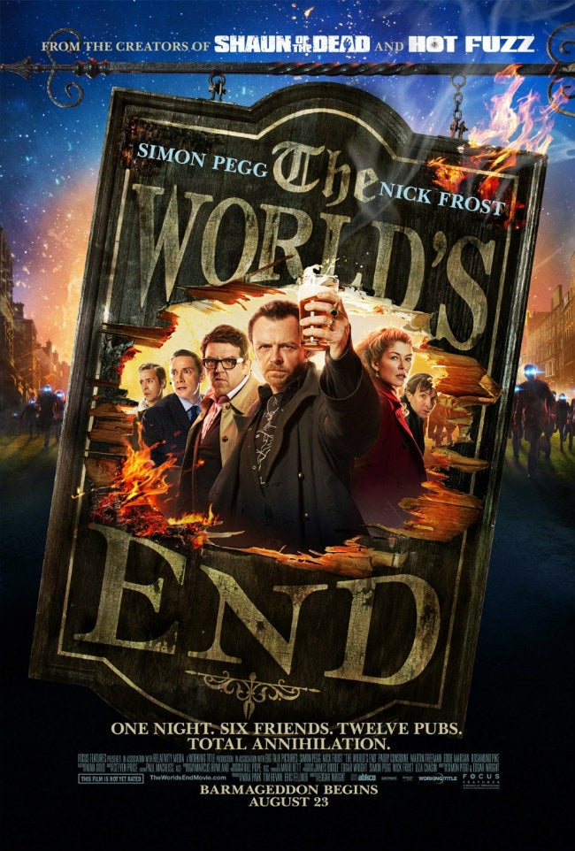 The World's End is the Best-Reviewed Genre Movie of 2013