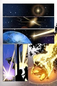 Hunger #1 Preview pages