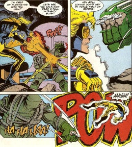 Doomsday Vs. Booster Gold