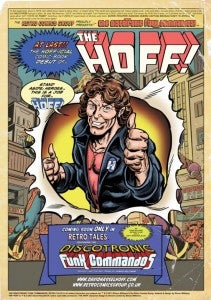 David Hasselhoff comic book