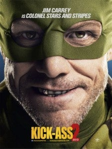 Jim Carrey Kick-Ass2 poster