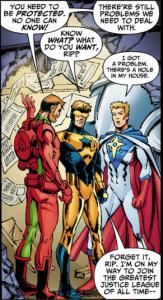 Booster Gold, Rip Hunter and Supernova
