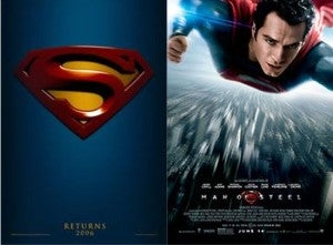Superman Returns vs. Man Of Steel