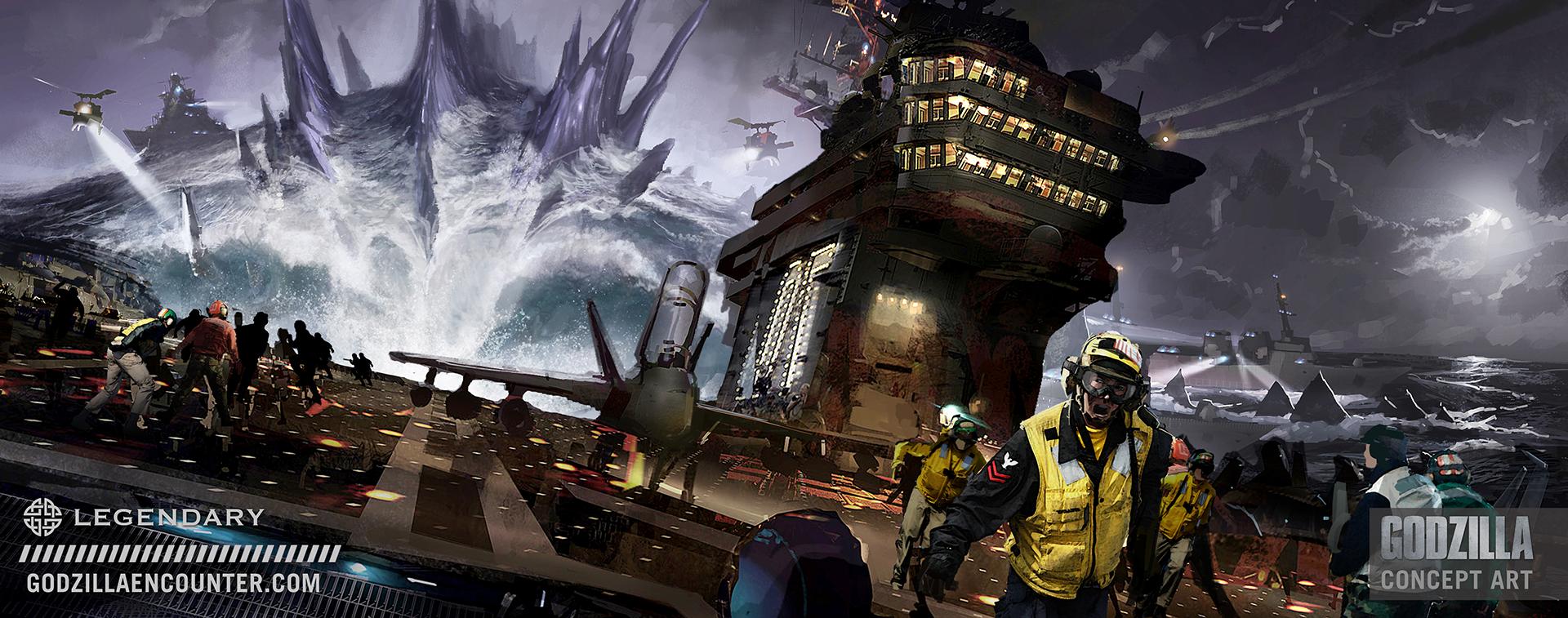 Godzilla-Concept-Art