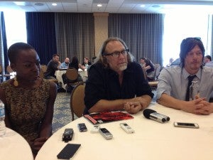 The Walking Dead's Gurira, Nicotero and Reedus