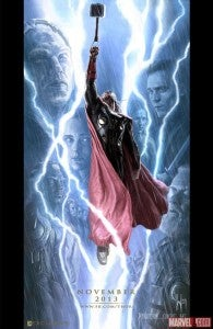 Thor The Dark World Comic-Con Exclusive Poster