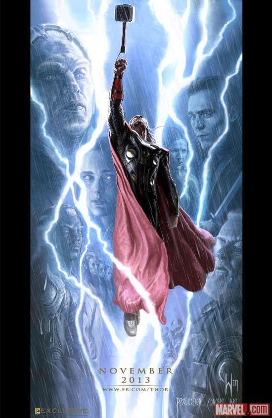 Thor-The-Dark-World-Comic-Con-Exclusive-Poster