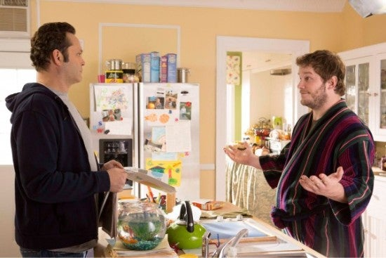 Chris Pratt and Vince Vaughn in Delivery Man