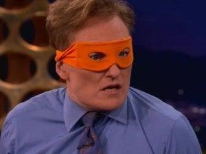 Conan O'Brien Ninja Turtle