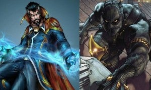 Doctor Strange & Black Panther movies