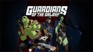 Guardians Of The Galaxy cartoon