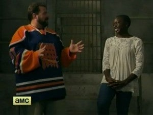 Kevin Smith & Danai Gurira