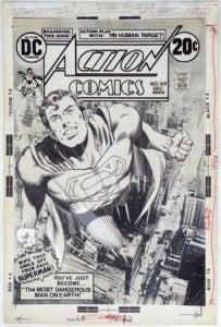 Neal Adams Superman original art