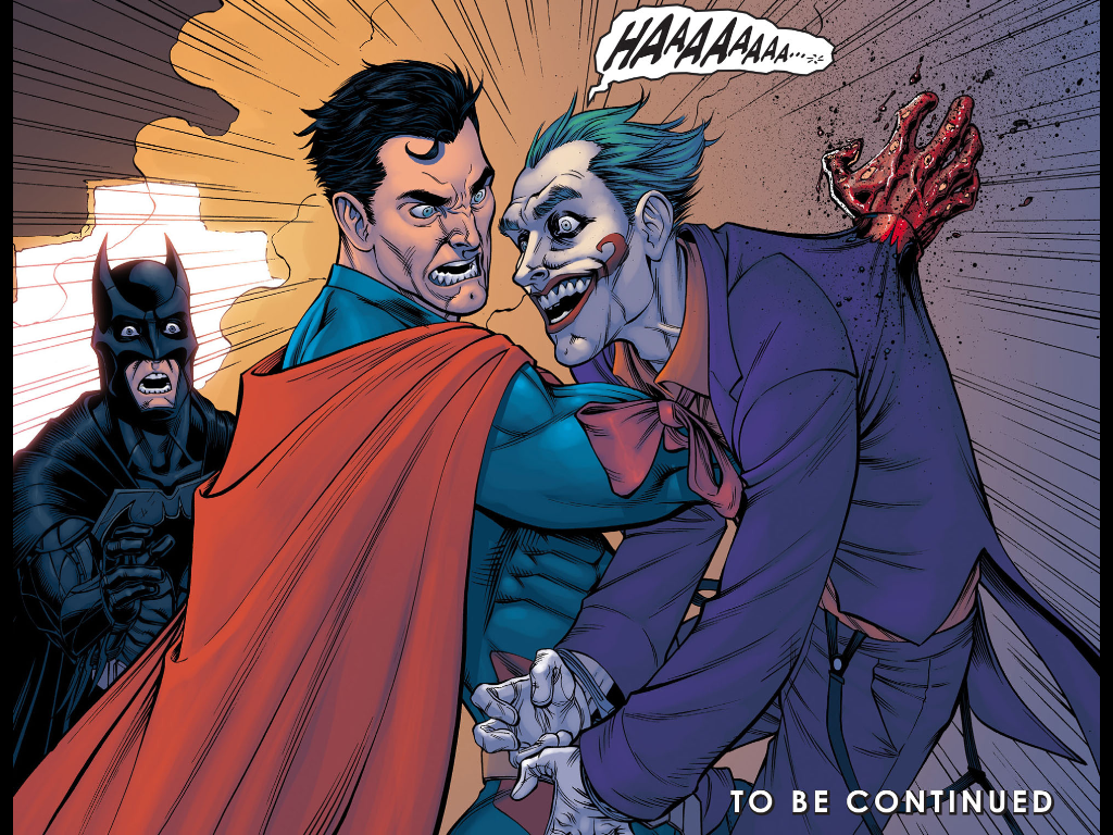 Batman Kills Joker