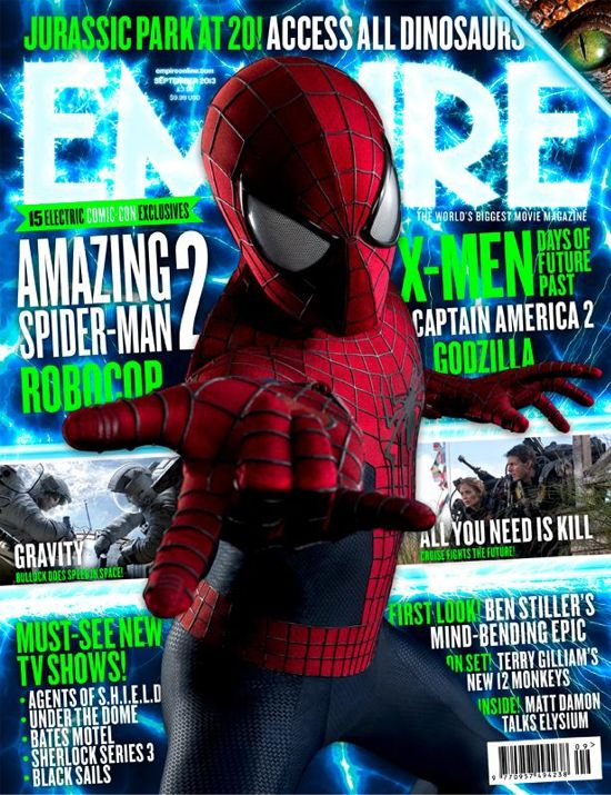 The Amazing Spider-Man 2 Empire Cover