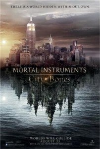 The Mortal Instruments City Of Bones Comic-Con Trailer