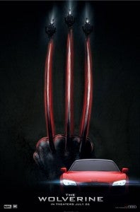 The Wolverine Audi poster