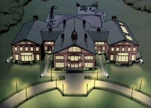 X-Men's X-Mansion