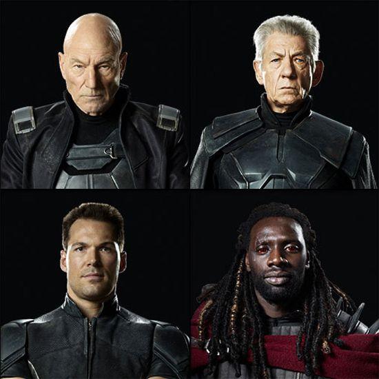 X-Men DaysOf Future Past Cast Photos