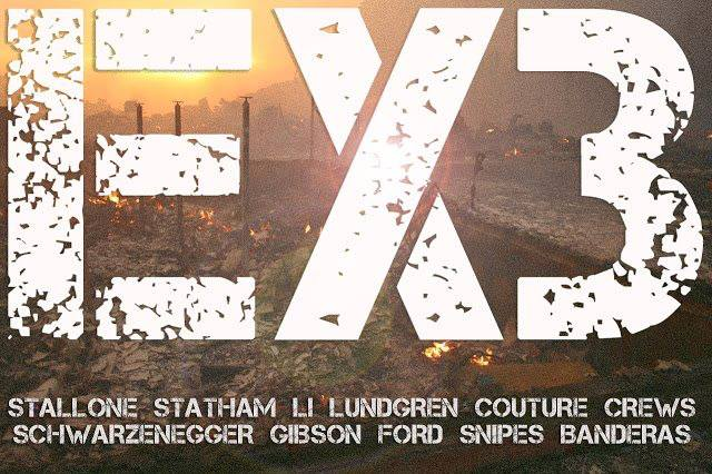 Expendables 3 Virtual Teaser Poster Released Online