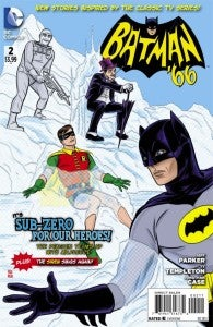 Batman 66 Issue #2 cover
