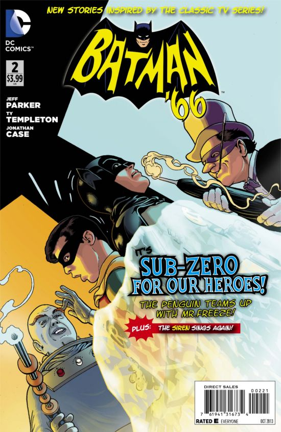 Batman '66 Issue #2 variant cover