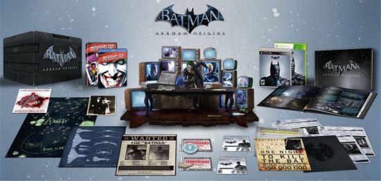Batman Arkham Origins Collectors' Set