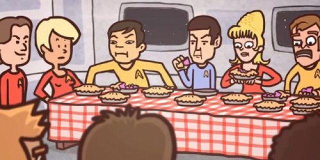 Breaking Bad: Star Trek Pie Eating Story Animated Version