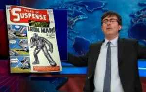 The Daily Show Iron Man