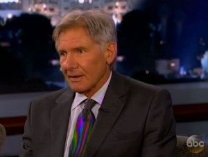 Harrison Ford Expendables 3 Jimmy Kimmel