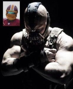 NFL bans Bane face masks