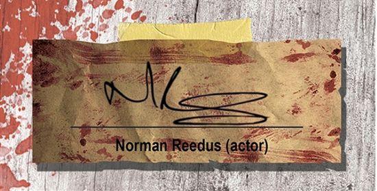Norman Reedus Signature