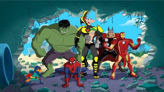 Phineas and Ferb Misson Marvel Special
