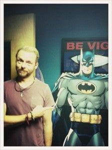Simon Pegg Batman