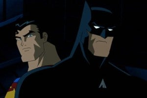 Superman Vs. Batman cartoon