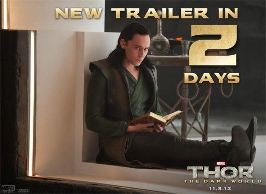 Thor The Dark World New Trailer Loki