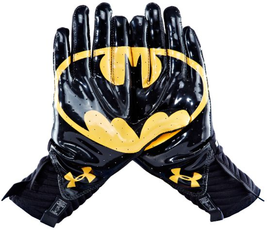Under Armour Batman gloves