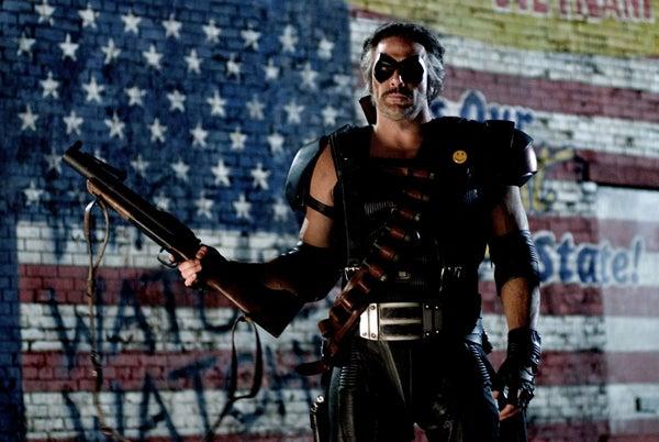 Watchmen movie image Jeffrey Dean Morgan as Edward Blake The Comedian