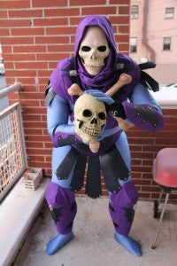 Unemployed Skeletor