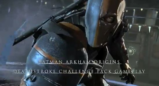 Batman Arkham Origins: Deathstroke Challenge